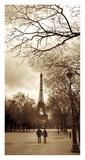 The Eiffel Tower in Paris Prints by Tim Clayton