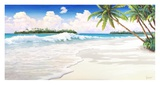 Onda Tropicale Prints by Adriano Galasso