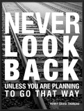 Never Look Back Posters by Walter Bibikow