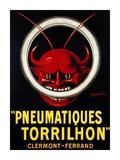 Pneumatiques Torrilhon Poster by Leonetto Cappiello