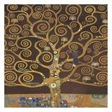 Tree of Life (Brown Variation) II Affiches par Gustav Klimt