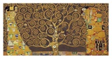Tree of Life (Brown Variation) IV Print by Gustav Klimt