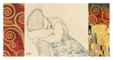 Woman Resting Print
