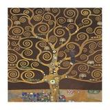 Tree of Life (Brown Variation) II Kunstdrucke von Gustav Klimt