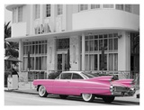 Pink Cadillac Posters by Richard Cummins