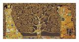 Tree of Life (Brown Variation) IV Arte por Gustav Klimt