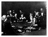 La Roulette a L'Interieur D'Un Casino a Monte Carlo, 1934 Prints by Charles Delius