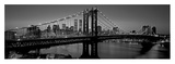 Manhattan Bridge and Skyline I Prints by Richard Berenholtz
