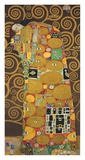 Tree of Life (Brown Variation) III Prints by Gustav Klimt