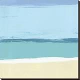 Strand II Leinwand von Cathe Hendrick