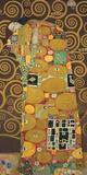 Tree of Life (Brown Variation) III Print on Canvas by Gustav Klimt