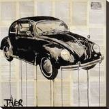 Beetle Stretched Canvas Print by Loui Jover