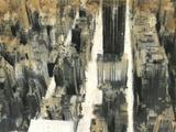 NYC VII Print on Canvas by Dario Moschetta