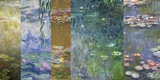 Waterlilies IV Print on Canvas by Monet Deco