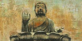 Buddha the Enlightened Print on Canvas by Dario Moschetta