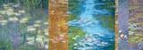 Waterlilies II Print on Canvas by Monet Deco