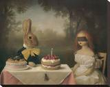 A Guess Is as Good as the Wish Stretched Canvas Print by Stephen Mackey