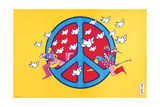 Peace Giclee Print by Peter Max