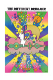 Different Drummer Giclee Print by Peter Max