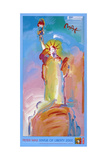 Statue of Liberty 2000 Reproduction procédé giclée par Peter Max
