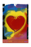 Valentine Giclee Print by Peter Max