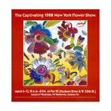 1988 New York Flower Show Giclee Print by Peter Max