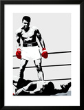 Muhammad Ali: Gloves Art