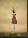 Suspension of Disbelief Stretched Canvas Print by Duy Huynh