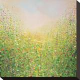 Spring Flowers Stretched Canvas Print by Sandy Dooley