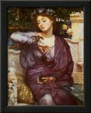Libra and Her Sparrow, 1907 Prints by Edward John Poynter