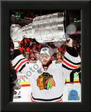 Antti Niemi with the 2009-10 Stanley Cup Posters
