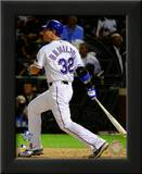 Josh Hamilton Game Three of the 2010 World Series Home Run Art