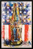 Coca Cola Star & Stripes Art Prints