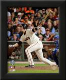 Buster Posey Game Two of the 2010 World Series Action Posters