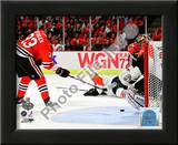 Dustin Byfuglien Game Five of the 2010 NHL Stanley Cup Finals Goal Poster