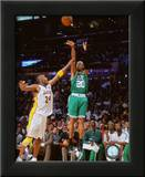 Ray Allen Game Two of the 2009-10 NBA Finals Print