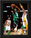 Rajon Rondo Game Two of the 2009-10 NBA Finals Prints