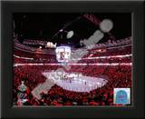 United Center Game Two of the 2010 NHL Stanley Cup Finals Prints