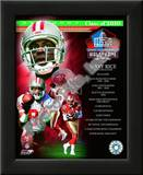 Jerry Rice Class Of 2010 HOF Poster