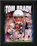 Tom Brady 2010 Portrait Plus Art
