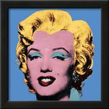 Shot Blue Marilyn, 1964 Prints by Andy Warhol