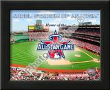 Angel Stadium with 2010 MLB All-Star Game Prints