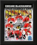 2009-10 Chicago Blackhawks Stanley Cup Champions Print