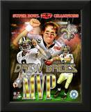 Drew Brees Super Bowl XLIV MVP Print