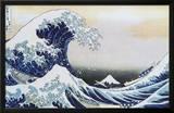 The Great Wave at Kanagawa , c.1829 Prints by Katsushika Hokusai