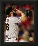 Brian Wilson Celebrates Winning Game Five of the 2010 World Series Prints