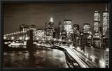 Manhattan Night Prints