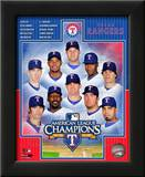 Texas Rangers 2010 American League Champions Composite Posters