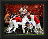 The Texas Rangers Celebrate winning the 2010 ALCS Prints