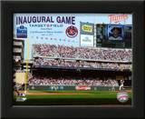 Target Field 2010 Inaugural Game 1st Pitch Art